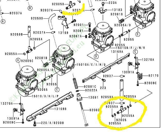 ralenti instable moteur qui monte dans les tours et petite fuite au carbu le forum du zephyrclub. Black Bedroom Furniture Sets. Home Design Ideas